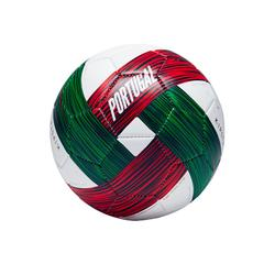 Ballon football Portugal taille 1 vert blanc rouge