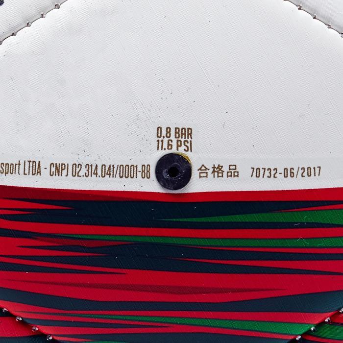 Balón de fútbol Portugal talla 1 verde blanco rojo