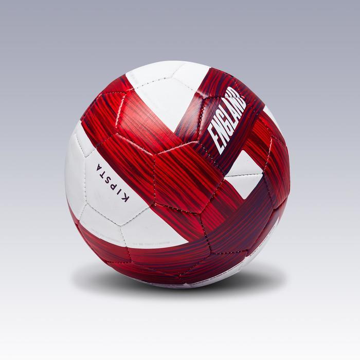 Ballon football Angleterre taille 1 bleu blanc rouge