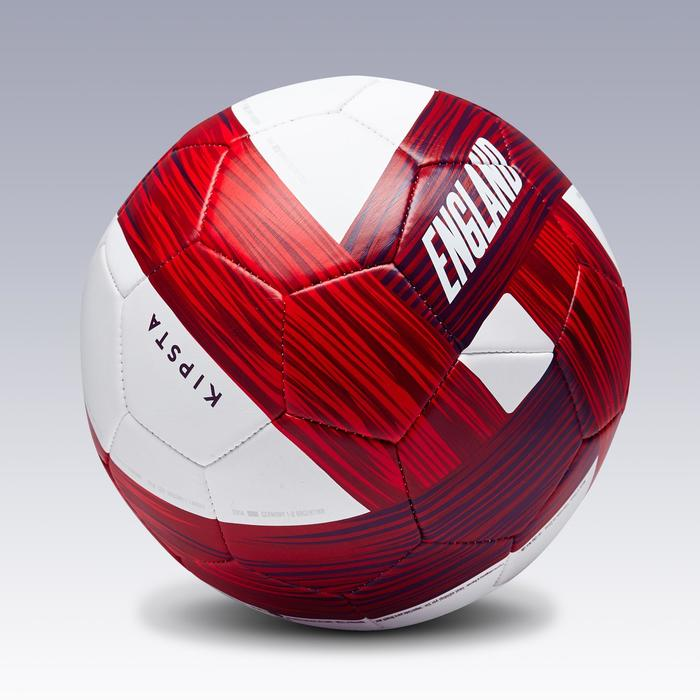 Ballon football Angleterre taille 5 bleu blanc rouge - 1292720