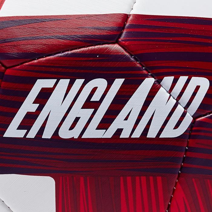 Voetbal Engeland maat 5 blauw wit rood