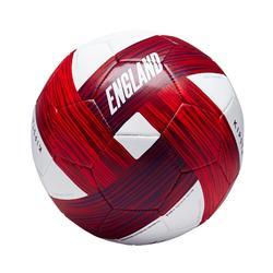 Ballon football Angleterre taille 5 bleu blanc rouge