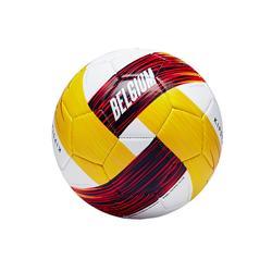 Ballon football Belgique taille 1 rouge noir jaune