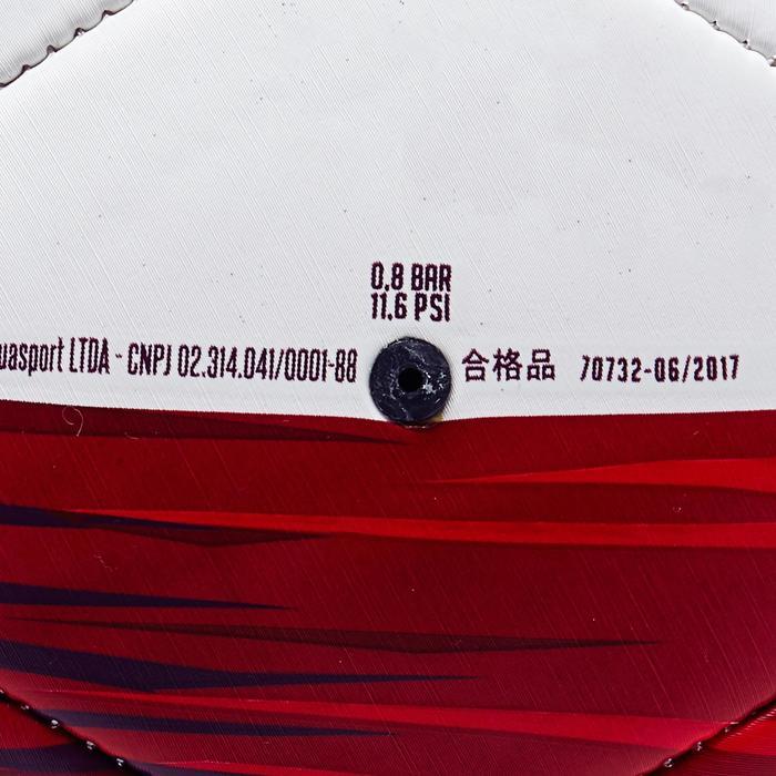 Ballon football Pologne taille 5  blanc rouge - 1292746