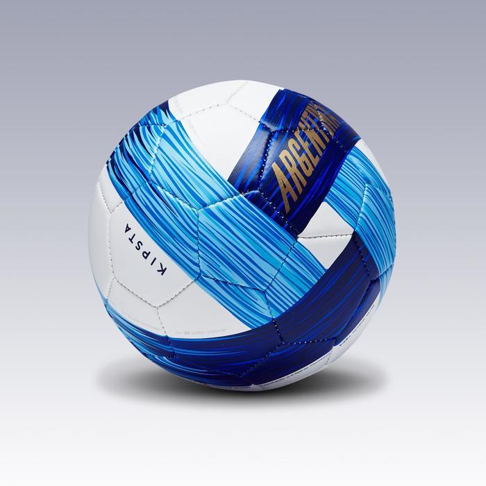 Ballon football Argentine taille 1 bleu blanc bleu - 1292764