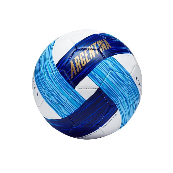 Ballon football Argentine taille 1 bleu blanc bleu - 1292767