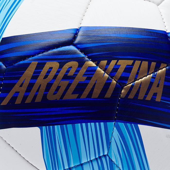 Ballon football Argentine taille 5 bleu blanc - 1292771