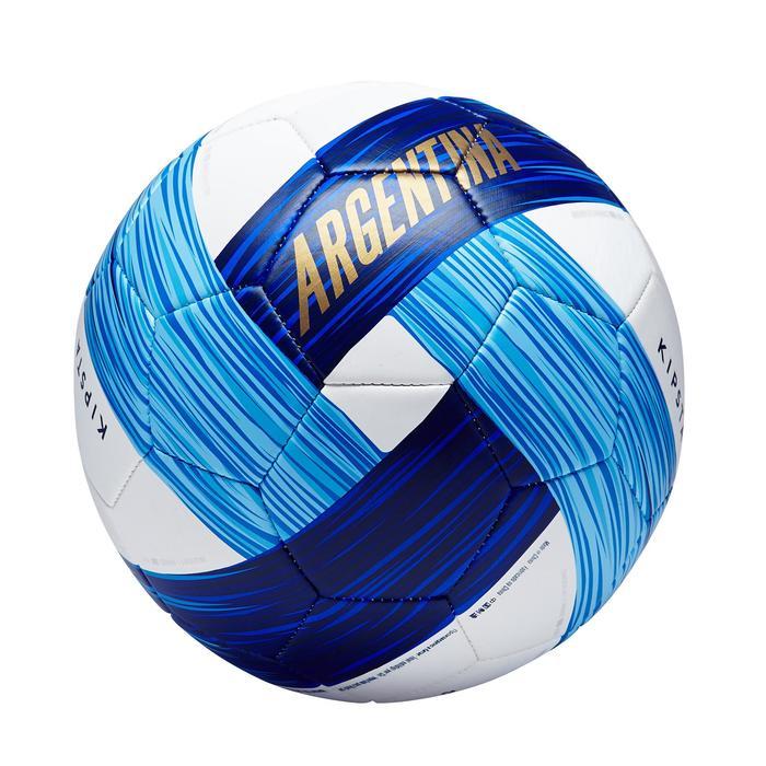 Ballon football Argentine taille 5 bleu blanc - 1292772