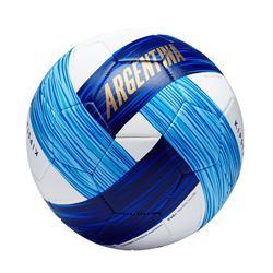 Ballon football Argentine taille 5 bleu blanc
