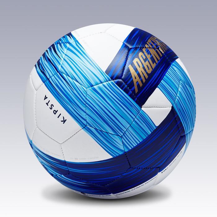 Ballon football Argentine taille 5 bleu blanc - 1292773