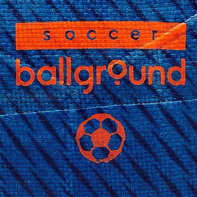 Mini ballon de football Ballground 100 taille 1 bleu