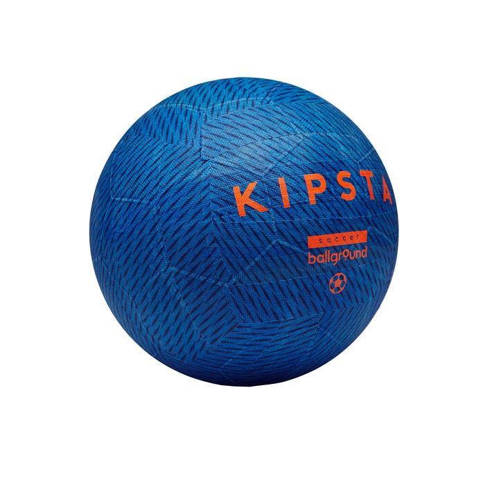 Minivoetbal Ballground 100 maat 1 blauw