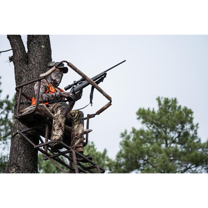 Ademende camouflagebroek voor de jacht 100 bos