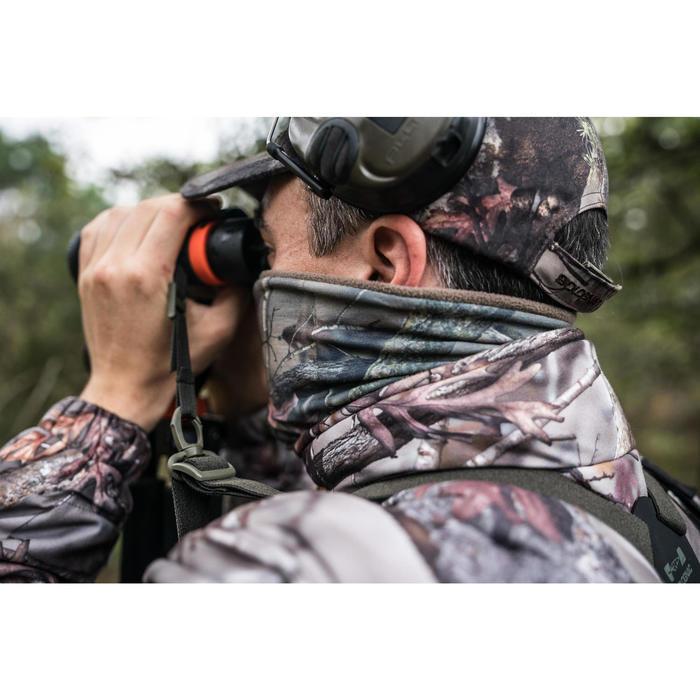 Nekwarmer voor de jacht Actikam-camouflage en stille stof