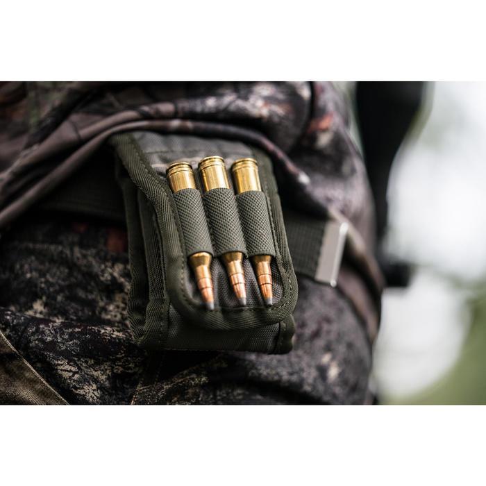 Etui voor 9 kogels voor de jacht X-Access groen