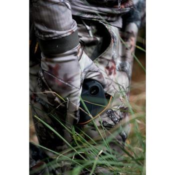 Jagdhose BGS500D Geräuscharm Atmungsaktiv Braun Camouflage