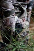 ABBIGLIAMENTO MIMETICO APPOSTAMENTO/AVVI Caccia - Pantaloni 500 FOREST SOLOGNAC - Abbigliamento caccia