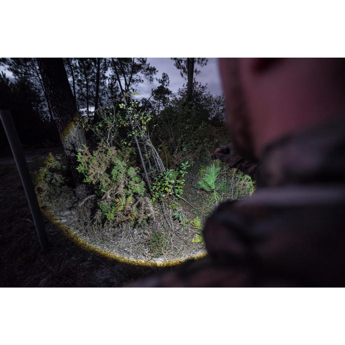 Linterna foco BGS 500 Zoom Negro