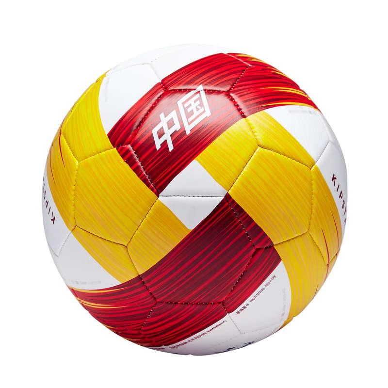 CHINE EQUIPE NATIONALE Lagsport - Fotboll Kina stl 5 röd gul KIPSTA - Lagsport 17