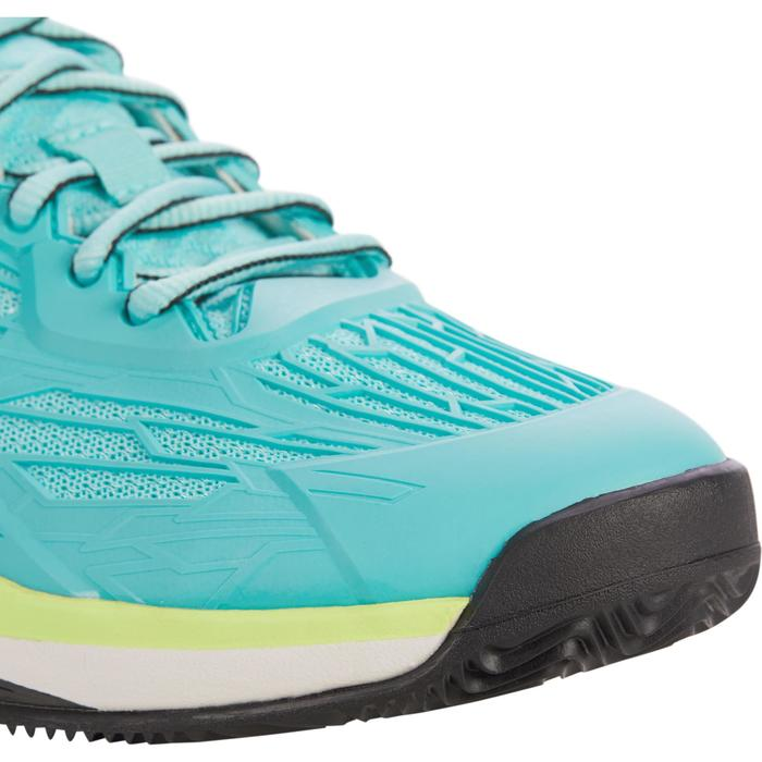 CHAUSSURES DE TENNIS FEMME CLAY TS990 TURQUOISE - 1292901