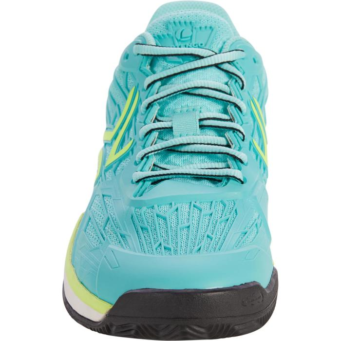 CHAUSSURES DE TENNIS FEMME CLAY TS990 TURQUOISE - 1292902