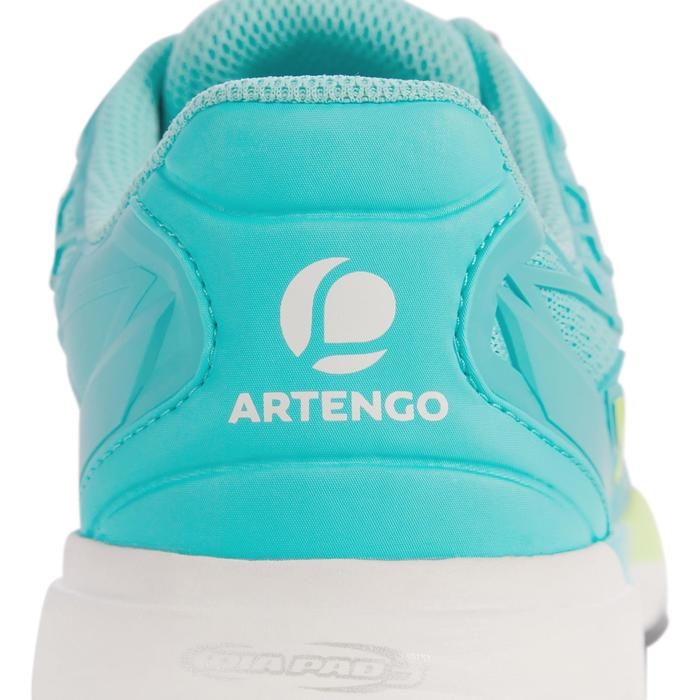 CHAUSSURES DE TENNIS FEMME CLAY TS990 TURQUOISE - 1292911