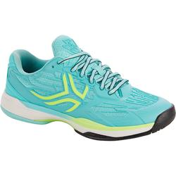 Tennisschuhe TS990 Multicourt Damen türkis