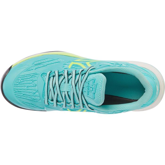 CHAUSSURES DE TENNIS FEMME CLAY TS990 TURQUOISE - 1292914