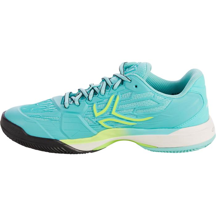 CHAUSSURES DE TENNIS FEMME CLAY TS990 TURQUOISE - 1292916