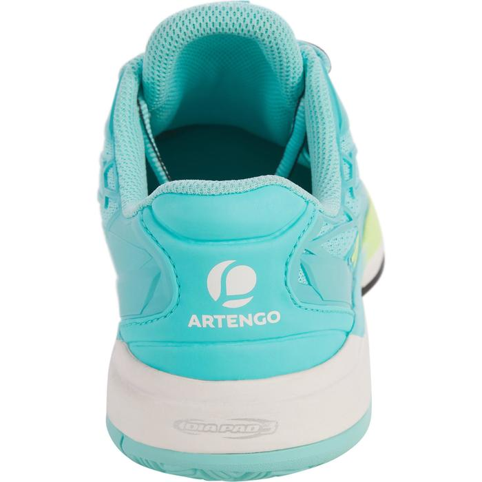 CHAUSSURES DE TENNIS FEMME CLAY TS990 TURQUOISE