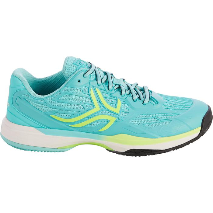 CHAUSSURES DE TENNIS FEMME CLAY TS990 TURQUOISE - 1292927