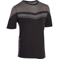 T-shirt tennis Light 990 heren zwart