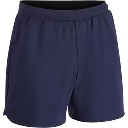 Tennisshort heren Dry 500 Court marineblauw