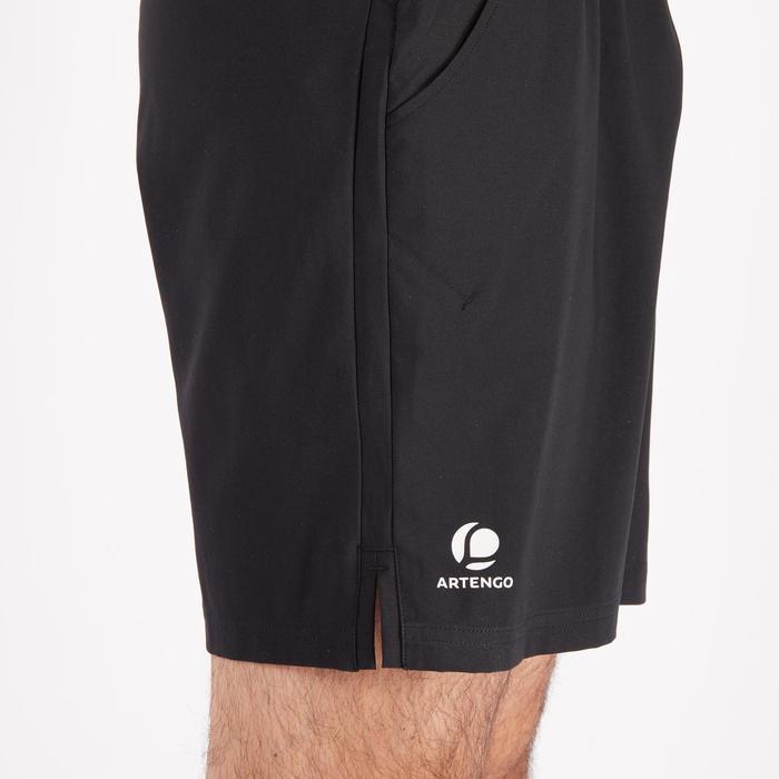 Shorts Dry 500 Tennishose Herren schwarz