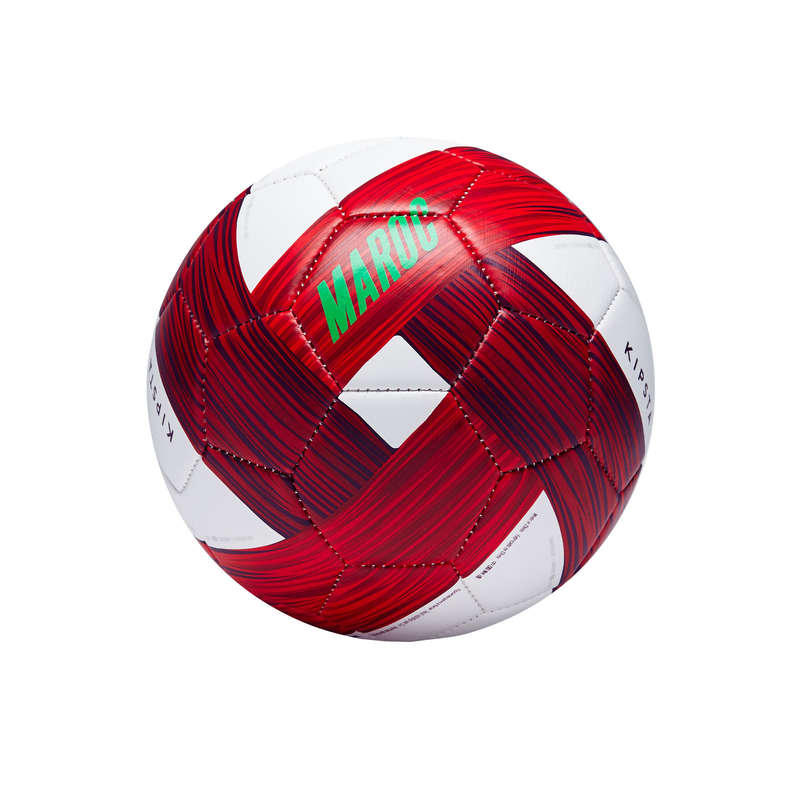 Landslag Lagsport - Fotboll Marocko stl 1 vit röd KIPSTA - Lagsport 17