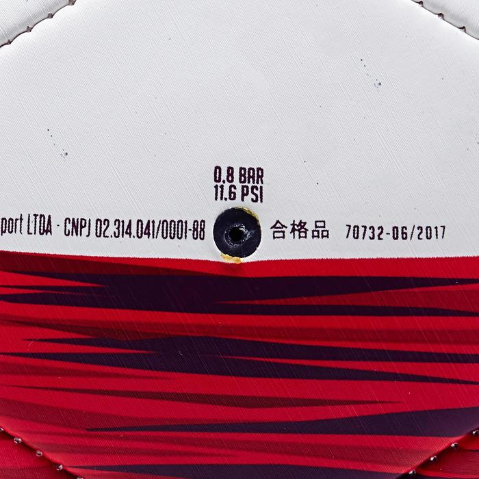 Ballon football Tunisie taille 5 blanc rouge - 1293162