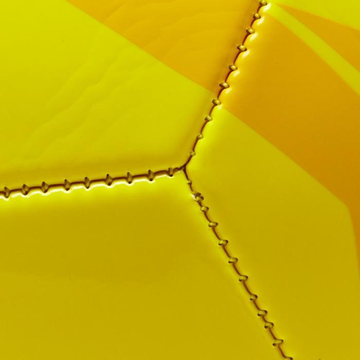 Balón de Fútbol Kipsta First Kick talla 4 (niños de 8 a 12 años) amarillo