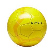 Nogometna žoga First Kick (velikost 4, za otroke starosti 8–12 let) – rumena
