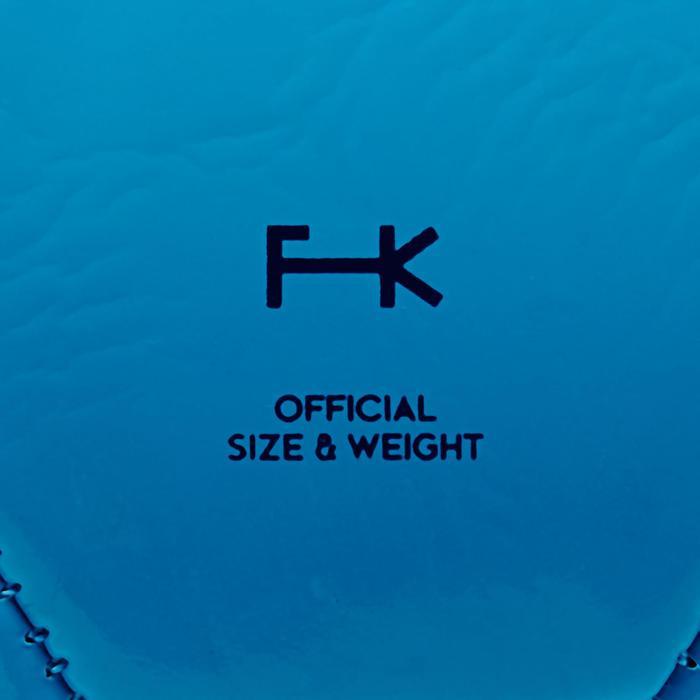 Fußball First Kick Größe3 (Kinder 5 bis 7 Jahre) blau