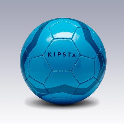 Balón de fútbol First Kick talla 3 (niños de 5 a 7 años) azul