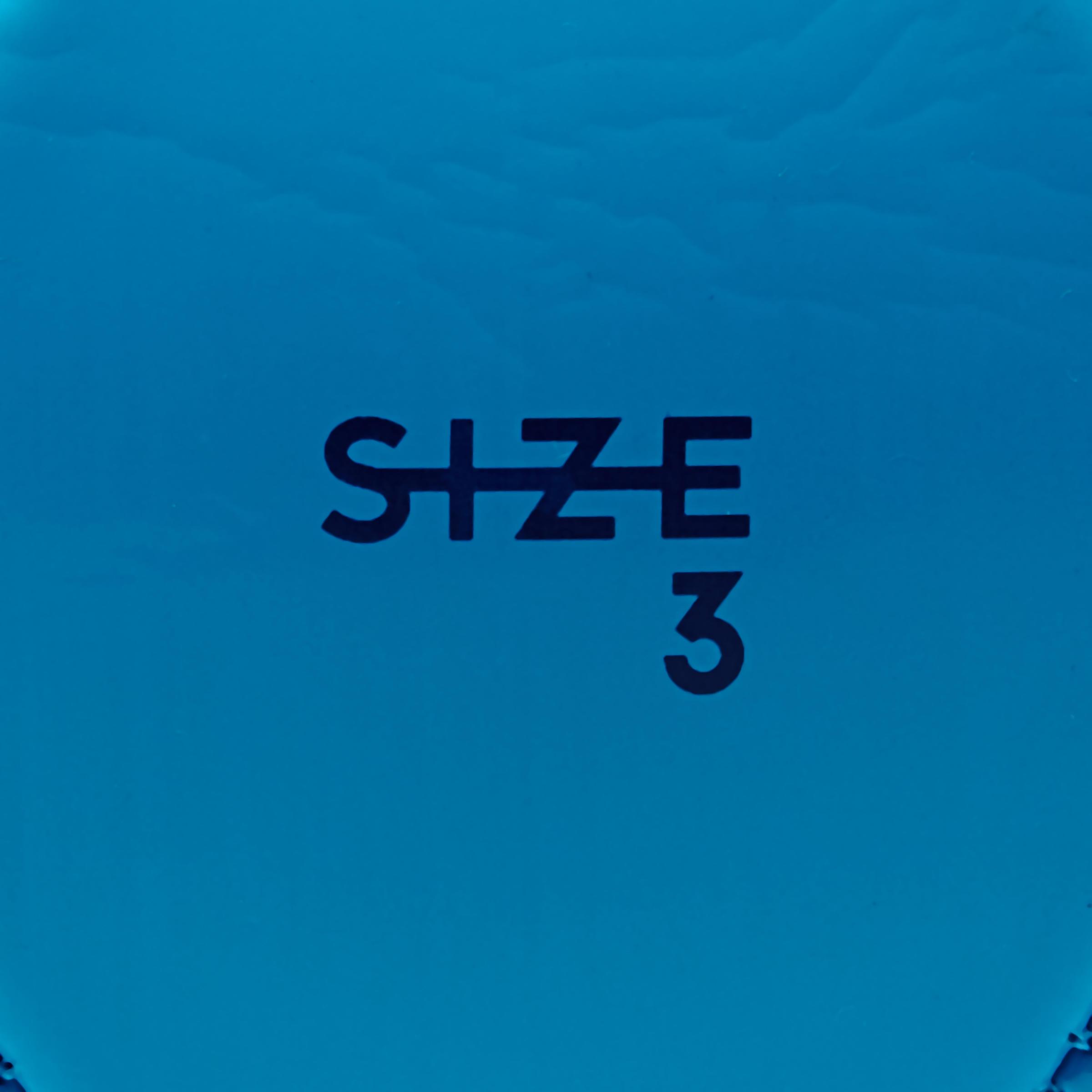 First Kick Football Ball Size 3 (Children Aged 5-7 Years) - Blue