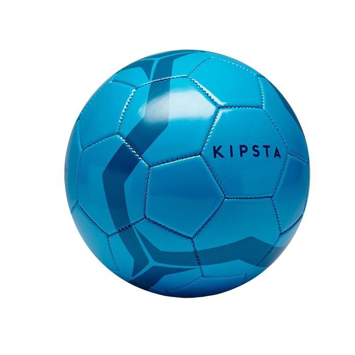 Voetbal First Kick maat 3 (kinderen van 5 tot 7 jaar) blauw