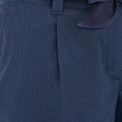 Short wandelen in de natuur NH500 Fresh marineblauw print dames