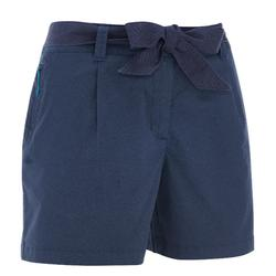 NH500 Women's Nature Hiking Print Shorts - Navy