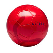Nogometna žoga za igralce od 14. leta (velikost 5) - rdeča