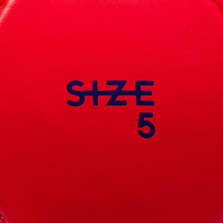 Ballon de football First Kick taille 5 (> 12 ans) rouge