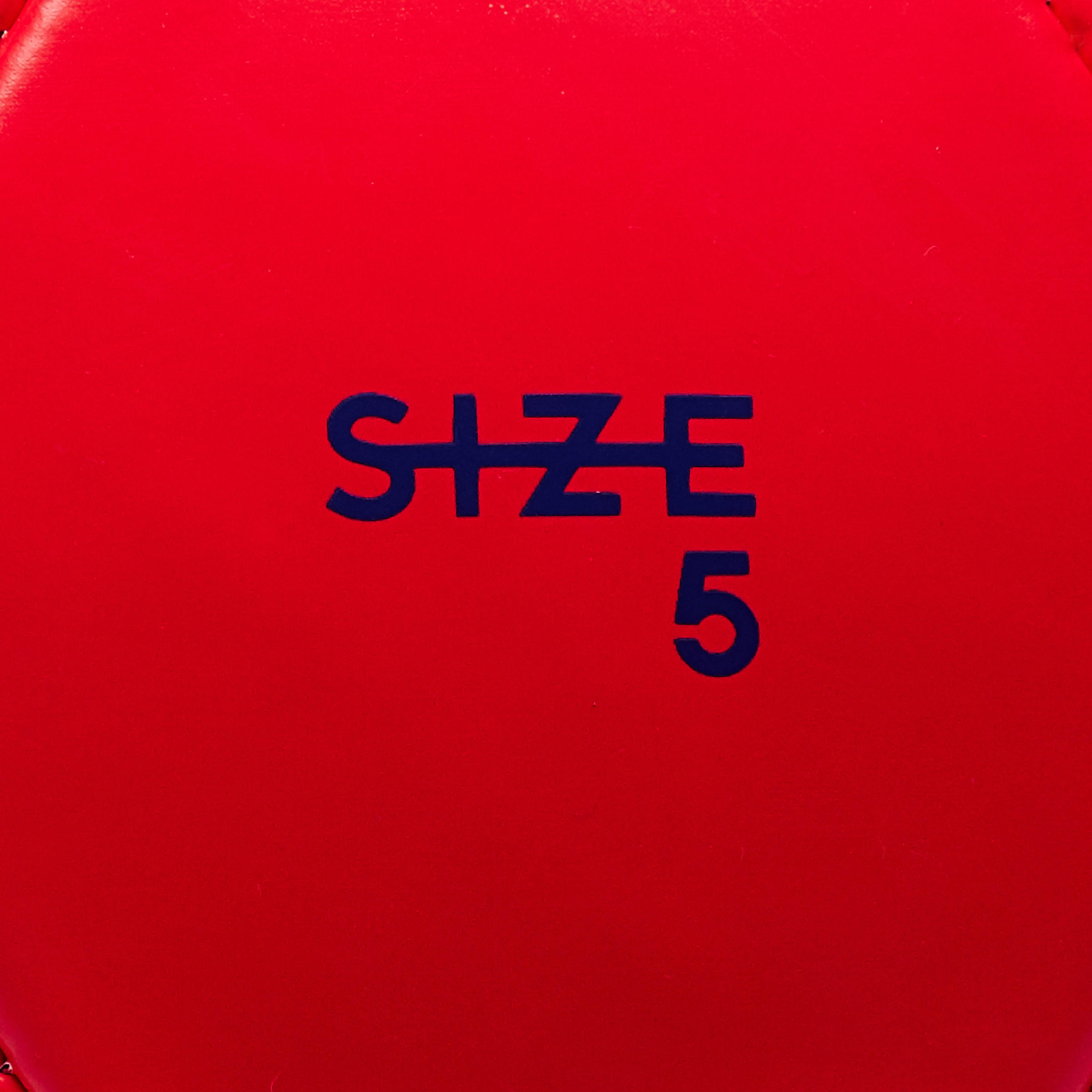 First Kick Football Ball Size 5 (_SUP_12 Years) - Red