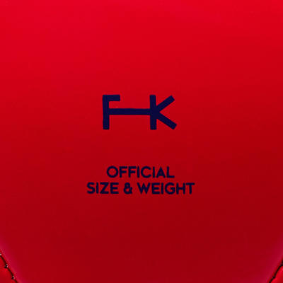 First Kick Football Size 5 (_SUP_12 Years) - Red