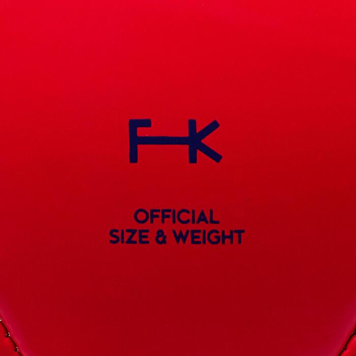 Balón de fútbol First Kick talla 5 (>12 años) rojo