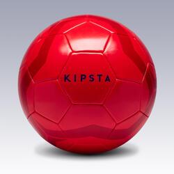 Fußball First Kick Größe5 (ab 12Jahren) rot